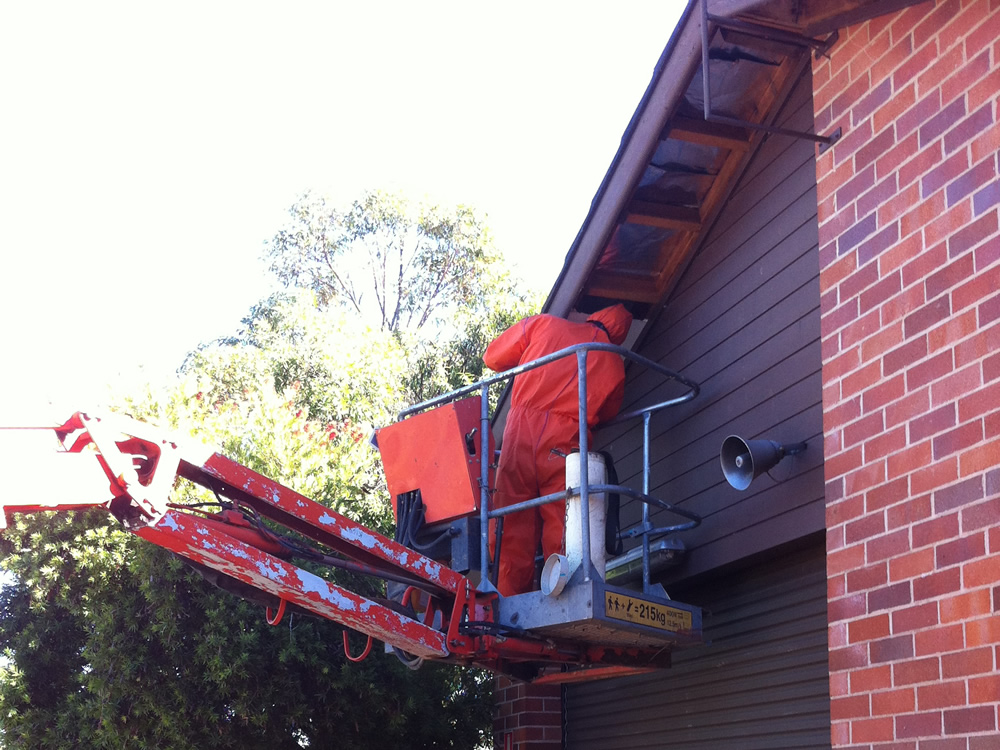 Asbestos Based Eaves Removal - Non Friable Fibro